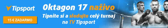 Oktagon 17 na TV Tipsport live